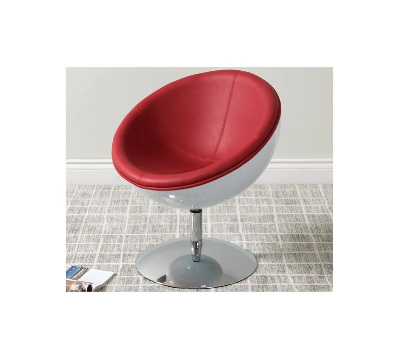 Captivating Mod Swivel Papasan Chair