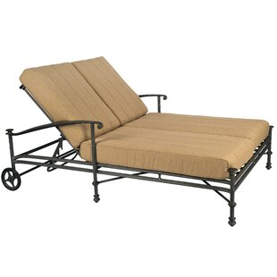 Nova Double Lounge Chaise by Woodard Cheap