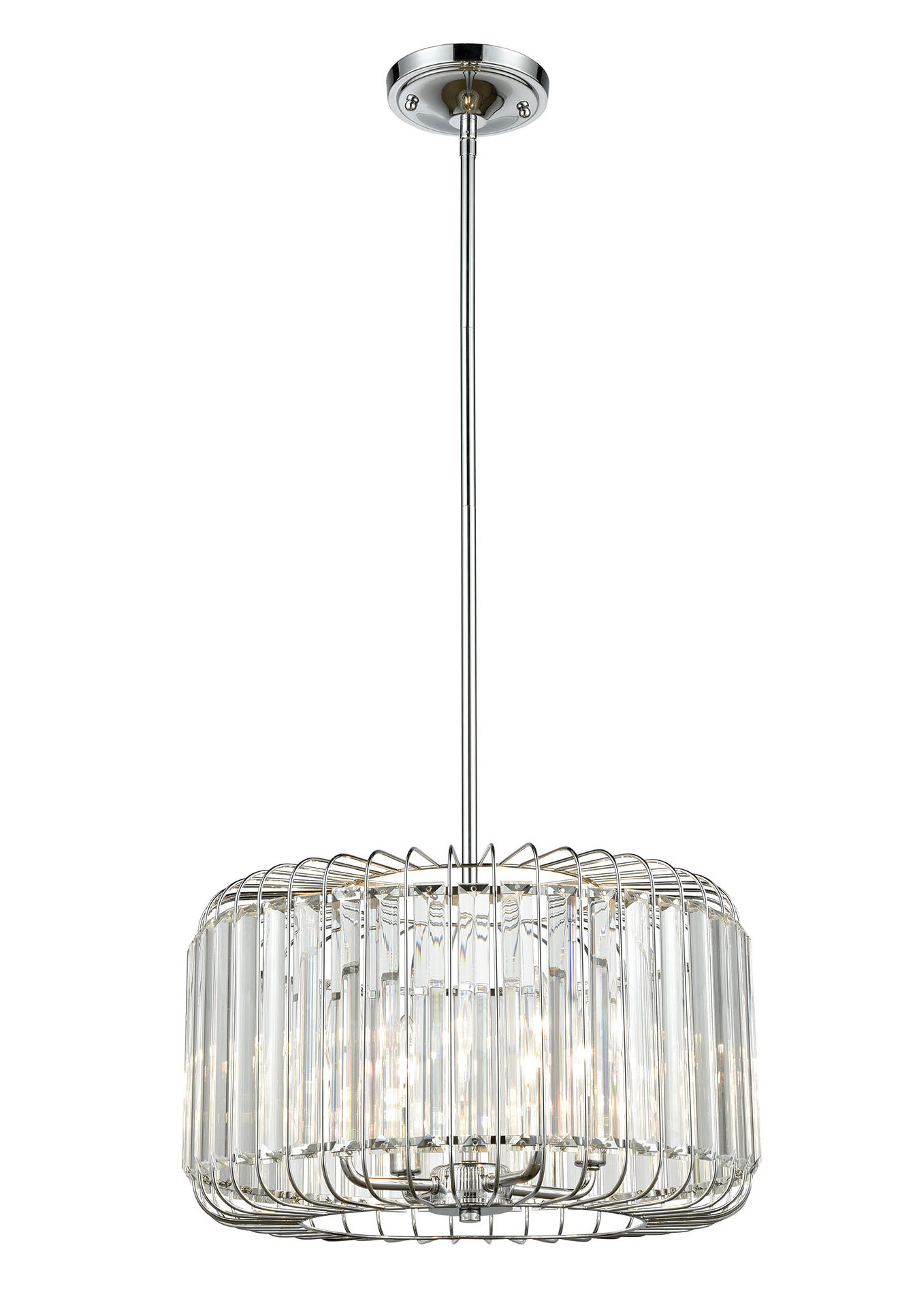 Polished Chrome Unique Statement Ceiling Lights You Ll Love In 2021 Wayfair