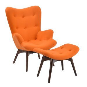 Excellent Edgemod Auzzie Lounge Chair And Ottoman Penlok Prumper Ibusinesslaw Wood Chair Design Ideas Ibusinesslaworg