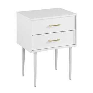 Winningham 2 Drawer Nightstand