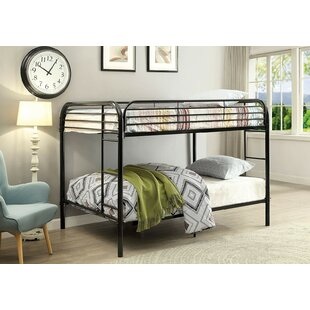 Alderete Full Over Full Bunk Bed by Harriet Bee Best Design