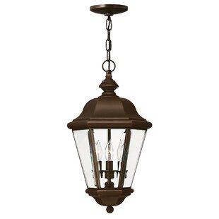 Hinkley Lighting Clifton Beach 3-Light Outdoor Hanging Lantern