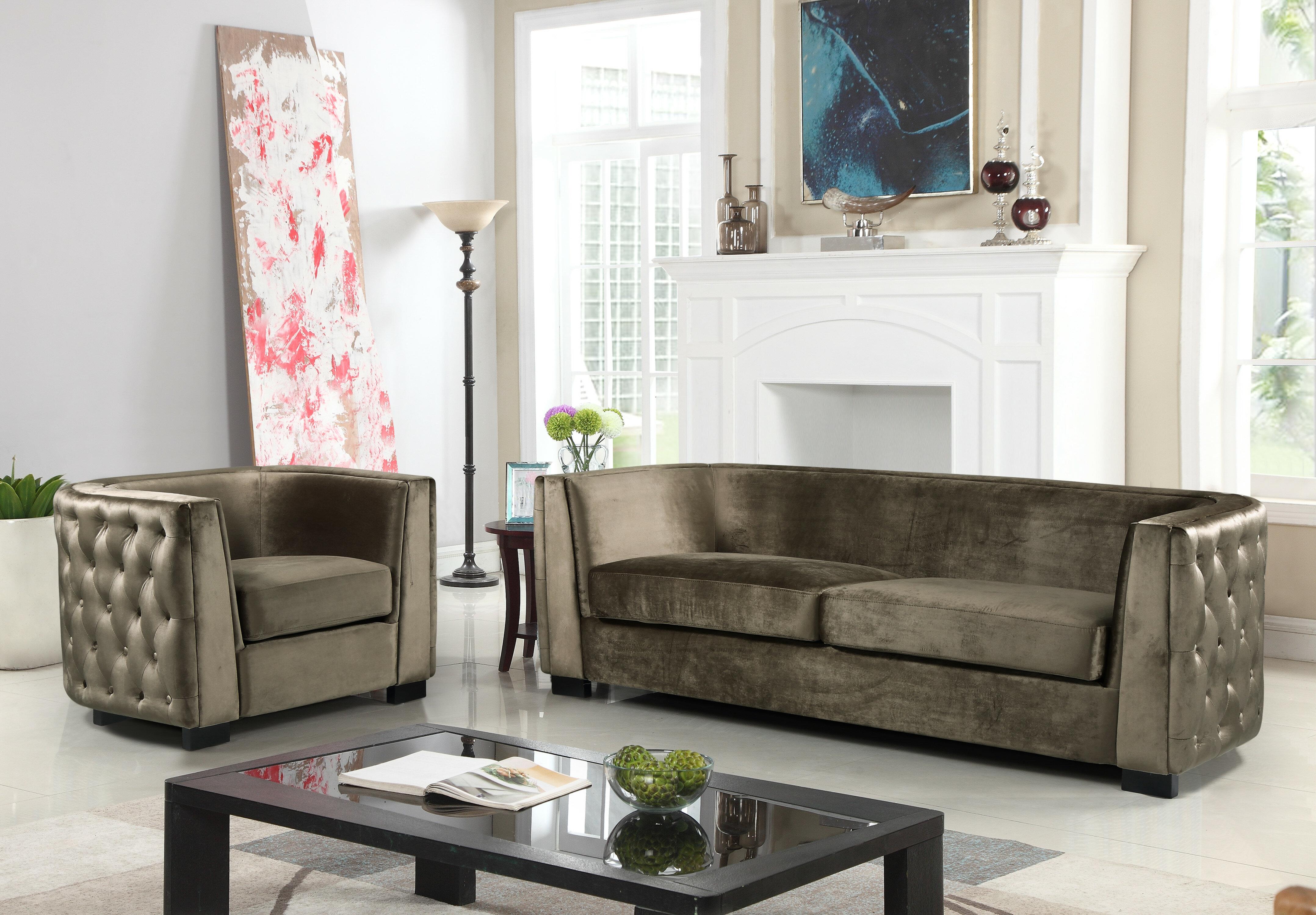 Rosdorf Park Orben Configurable Living Room Set & Reviews  Wayfair.ca