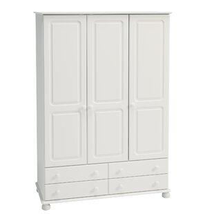 Midbury 3 Door Wardrobe By Marlow Home Co.