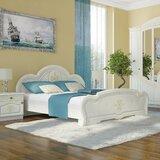 Melinda European Platform Bed with Mattress by Charlton Home®