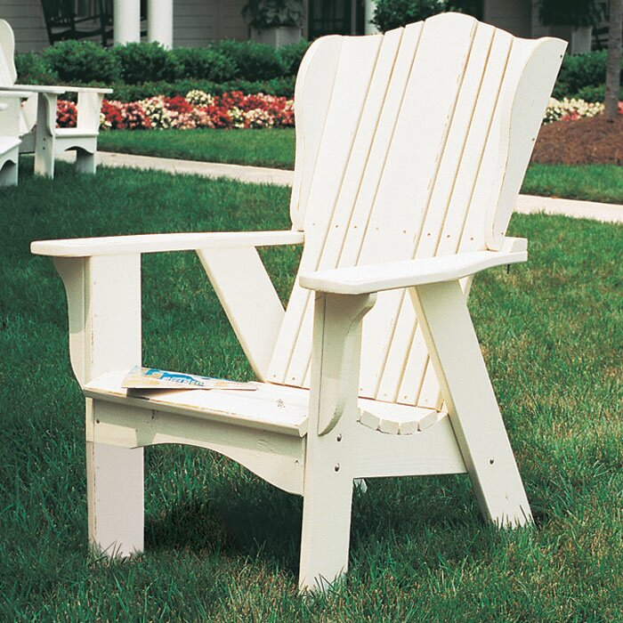 Plantation Wood Adirondack Chair - Let's go inside the Netflix hit Grace and Frankie to score beach house decor & paint ideas! #graceandfrankie #getthelook