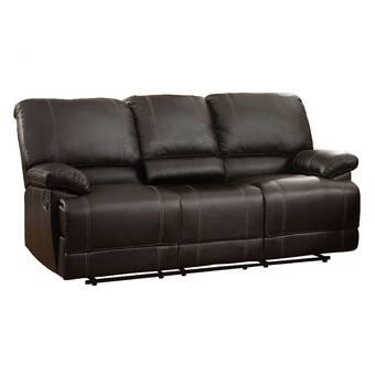 Red Barrel Studio Zuckerman Microfiber 86 Pillow Top Arm Sofa Reviews Wayfair