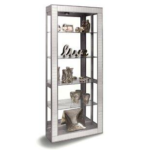 Philip Reinisch Co. Halo Lighted Curio Cabinet