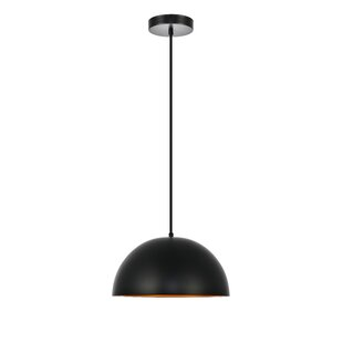 Circa 1-Light Dome Pendant by Living District