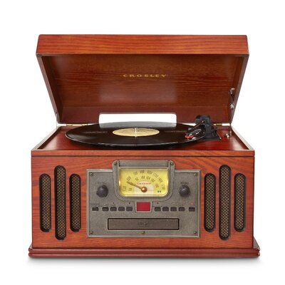 Musician Entertainment Center with Bluetooth Crosley Electronics