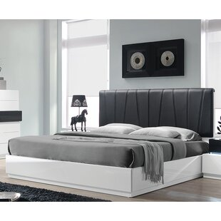Wade Logan Linehan Upholstered Platform Bed