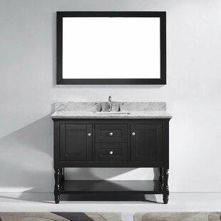 Julianna 49 Single Bathroom Vanity Set with Mirror