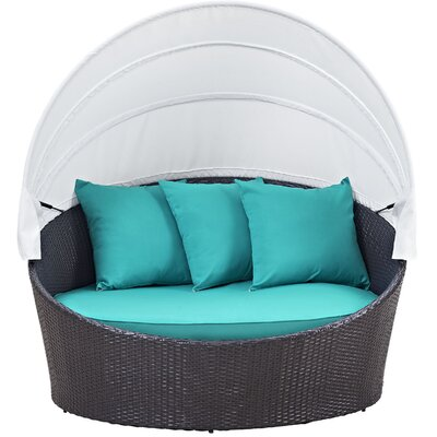 Samuel Canopy Outdoor Patio Daybed