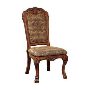 Bataan Solid Wood Dining Chair (Set of 2) by Astoria Grand
