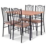 Greifenstein 5 - Piece Dining Set by Red Barrel Studio®
