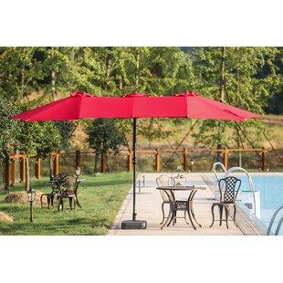 Rectangular Patio Umbrellas You\'ll Love   Wayfair