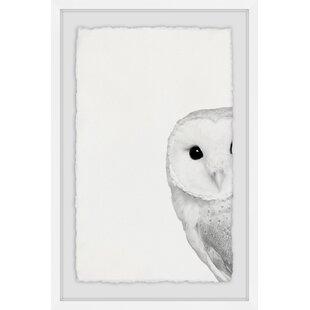'Hidden Owl' Framed Art By HoneyBee Nursery
