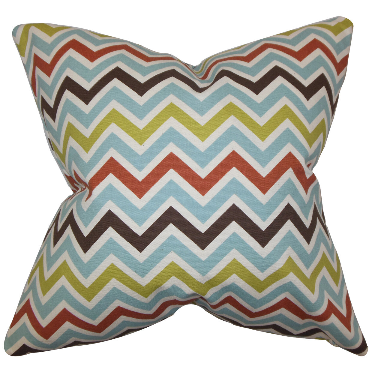 The Pillow Collection Quito Zigzag Bedding Sham Wayfair