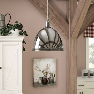 Marquise 1-Light Bell Pendant by Gracie Oaks