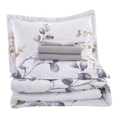 Gracie Oakspeavy Comforter Set Gracie Oaks Size Twin Comforter 4 Additional Pieces Dailymail