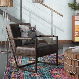 Trent Austin Design Cateline Faux Leather Armchair