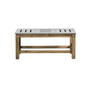 Wiggin Wood Bench by Millwood Pines