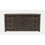 Westhoff 70 Wide 6 Drawer Pine Wood Sideboard by Gracie Oaks