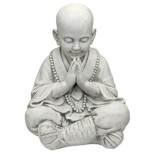 Praying Baby Buddha Asian Garden Statue