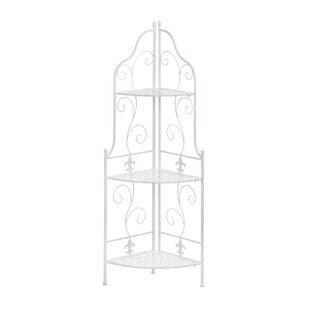 Zingz & Thingz Basket Weave Corner Unit Bookcase