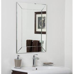 Great Price Avie Bathroom Wall Mirror ByDecor Wonderland