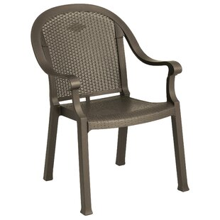Irondale Stacking Patio Dining Chair (Set of 4)