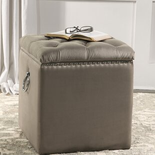 Siobhan Tufted Storage Ottoman by Alcott Hill