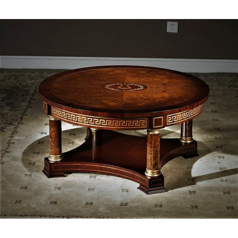 Infinityfurnitureimport Orpheus Round Coffee Table Wayfair