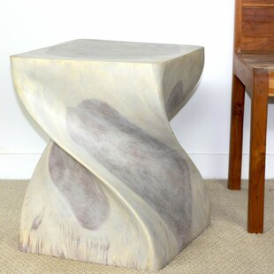World Menagerie Decarlo Big Twist End Table