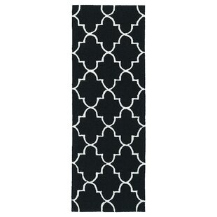 Cowan Black Indoor/Outdoor Area Rug By Charlton Home