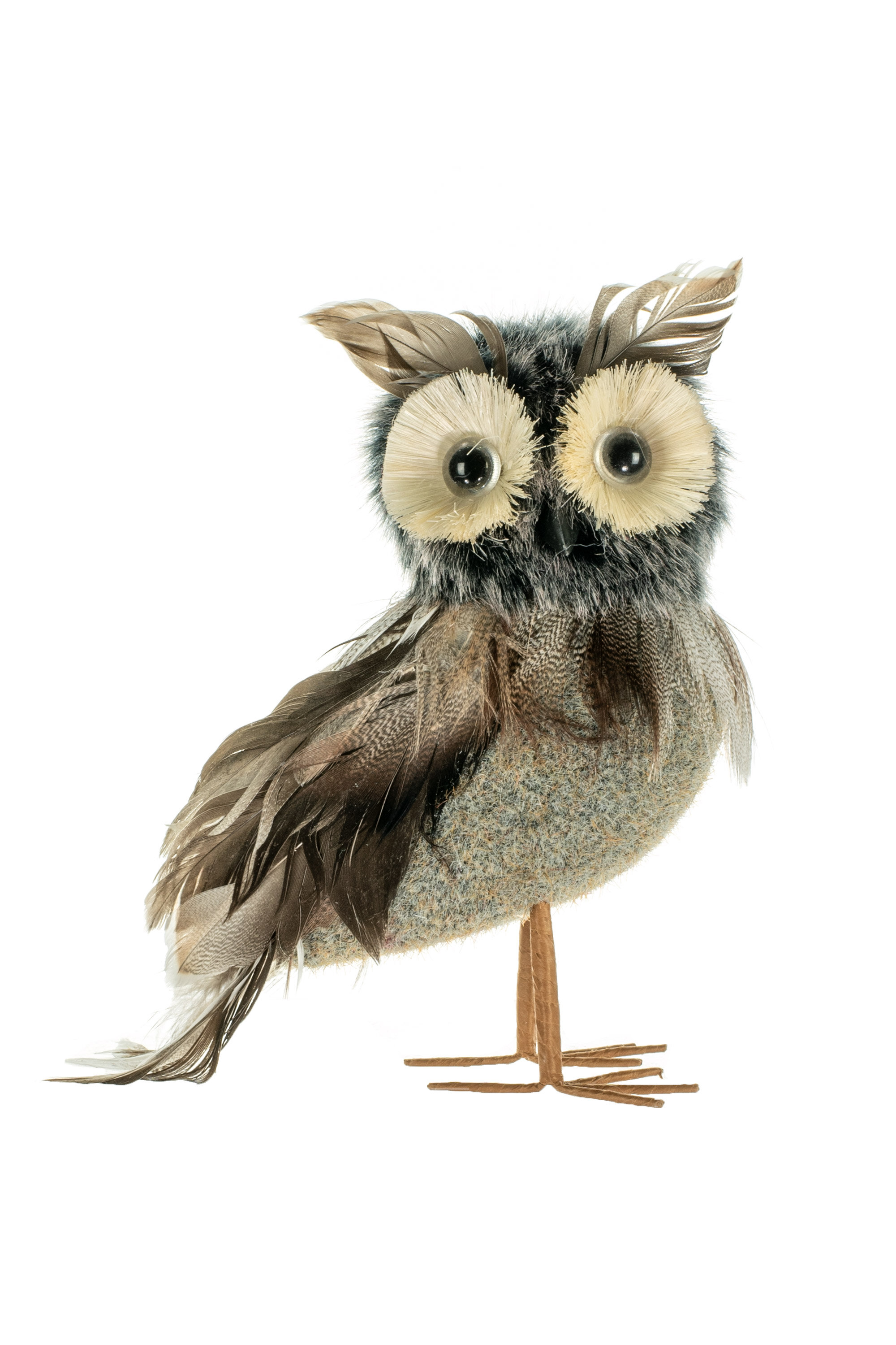 The Holiday Aisle Standing Owl Hanging Figurine Ornament Wayfair