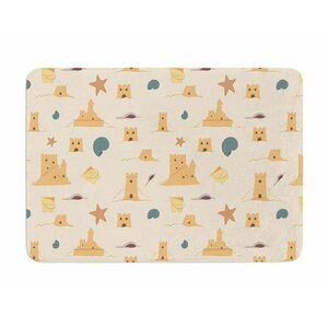 Sandcastles by Stephanie Valet Memory Foam Bath Mat
