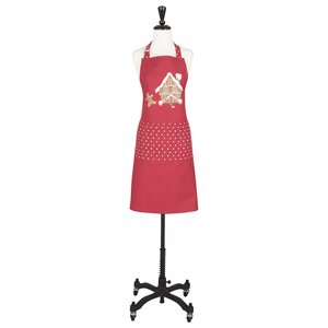 Cotton Gingerbread Apron