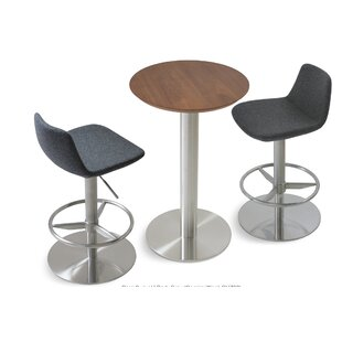 Pera Adjustable Height Swivel Bar Stool sohoConcept