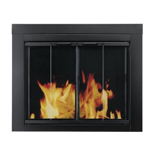 Ascot Bifold Style Steel Fireplace Doors by Pleasant Hearth