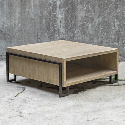 17 Stories Abigail Coffee Table with Storage