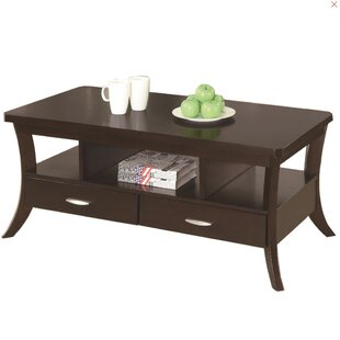 Great choice Olander Coffee Table with Storage by Red Barrel Studio