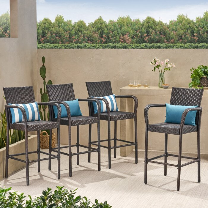 Stupendous Lansdale 30 Patio Bar Stool Alphanode Cool Chair Designs And Ideas Alphanodeonline