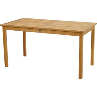 Bellwether Teak Dining Table By Sol 72 Outdoor