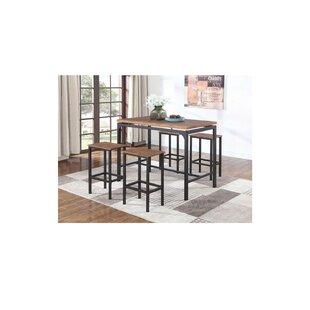 Bratton 5 Piece Pub Table Set Foundry Select