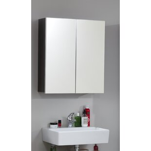 Mifley 60cm X 67cm Surface Mount Mirror Cabinet By Mercury Row
