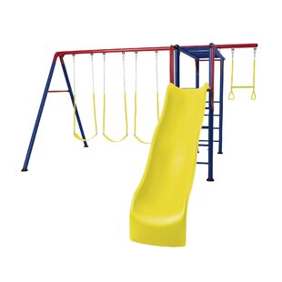 Lifetime Monkey Bar Adventure Swing Set