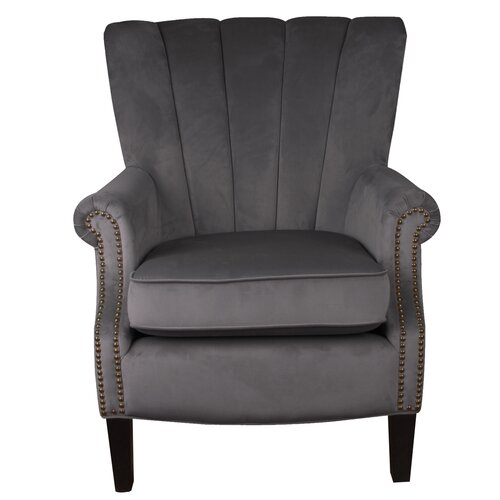Geralyn Wingback Chair Rosalind Wheeler