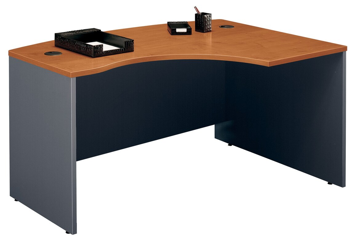 series corner desk. Series C Right Bow Corner Desk Shell